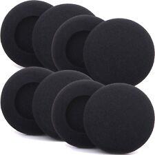 8 x EarPads For Sony MDR Headset Covers HeadPhone Ear Pad Foam Cushions 50mm