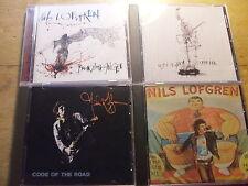 Nils Lofgren [4 CD Alben]  Break Away Angel + Code of the Road + Crooked Line +