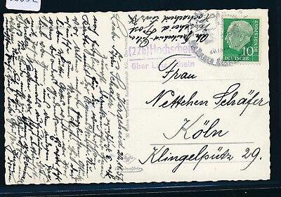 Landpost L2 Analytisch 23632 Karte 1956 Hochscheid über Linz / Rhein 22b