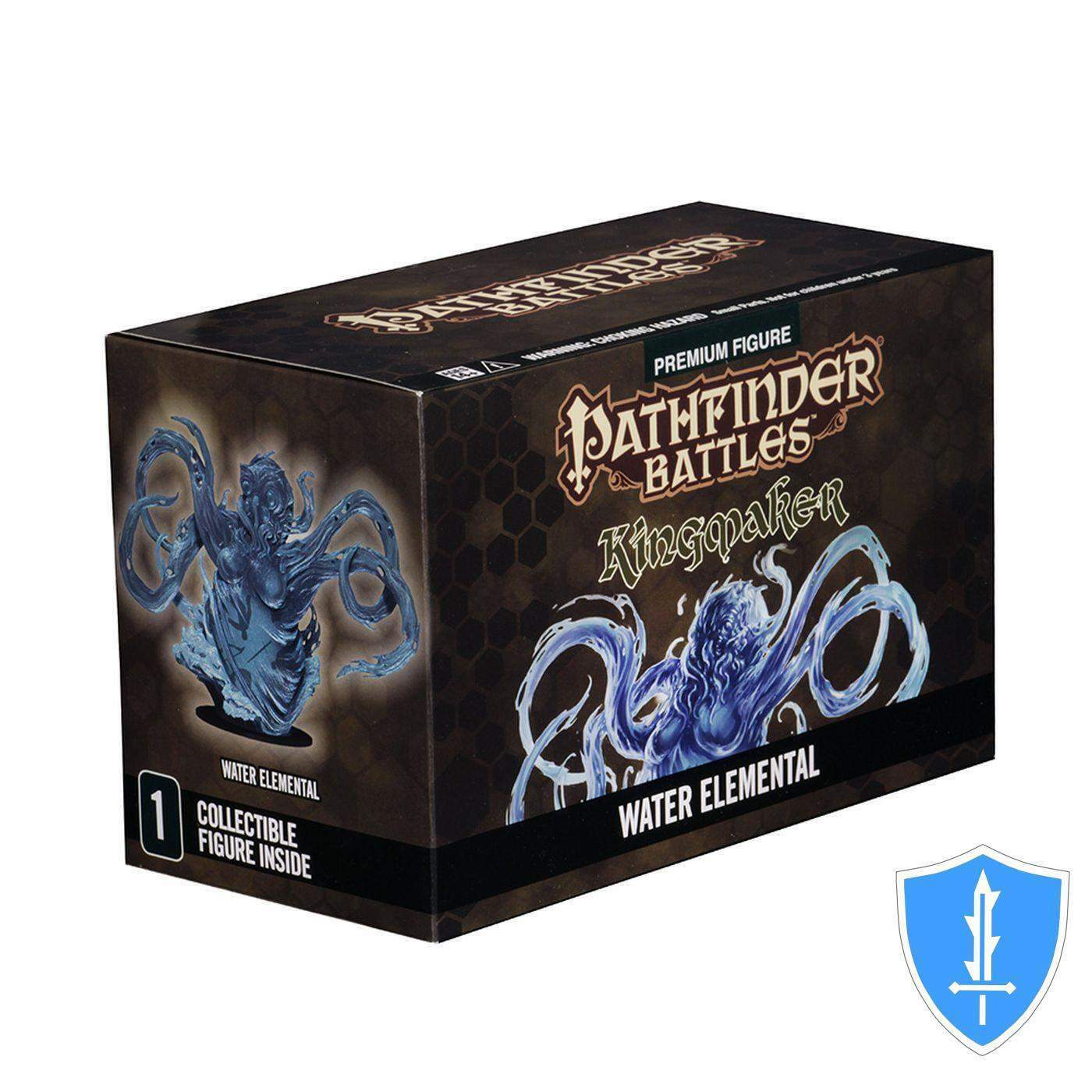 Huge Water Elemental Lord - Kingmaker Promo Pathfinder Battles D&D Miniature NIB
