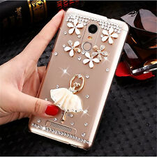 Handmade Bling Clear Crystal Diamond Soft TPU back thin Phone Case Cover Skin 16