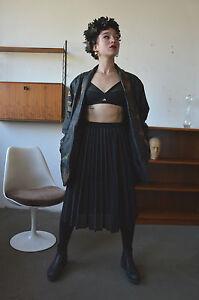 Damen Rock Plisseerock Faltenrock 90er True Vintage Woman Pleats Skirt 90's Röcke