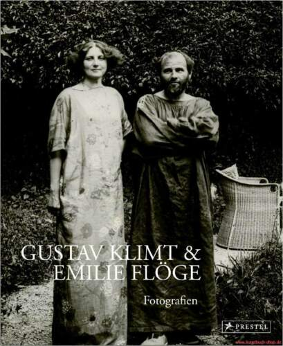 1 von 1 - Fachbuch Gustav Klimt und Emilie Flöge, Fotografien des Künstlerpaars, NEU