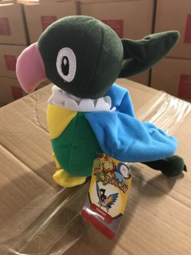 """Pokémon Chatot 9/"""" Carnival Plush Figure To Collect And Love"""