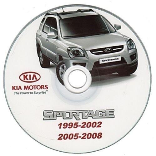 Kia Sportage 1995-2008 manuale officina workshop manual