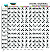 Soccer Ball Football 0.5 Scrapbooking Crafting Stickers