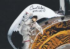 Carl Walz signed Astronaut Expedition 4 NASA RARE COA LOOK!