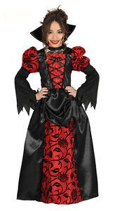 NINA-VICTORIANA-Vampiro-Disfraz-de-Reina-Largo-Halloween-Edad-3-12