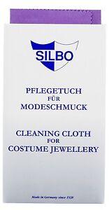 Silbo - Modeschmuck Pflegetuch , Reinigungstuch Für Modeschmuck 100% Original