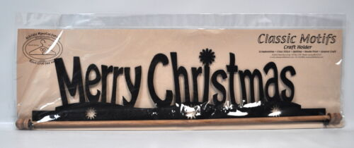 Classic Motifs 22 Inch Merry Christmas Craft Holder