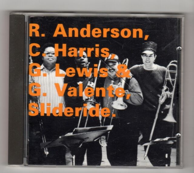 (IL442) R Anderson/C Harris/G Lewis/G Valente, Slideride - 1995 CD