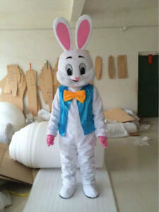 2018 new bunny mascot costume rabbit easter cartoon fancy dress image is loading 2018 new bunny mascot costume rabbit easter cartoon negle Image collections