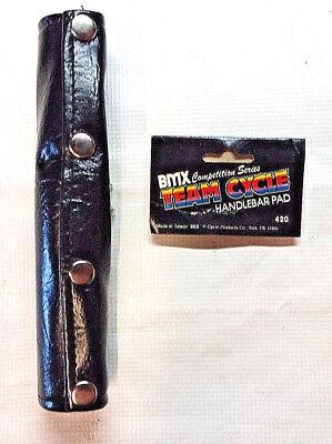 Dorcy BMX Handlebar V bar pad cover old school BLACK