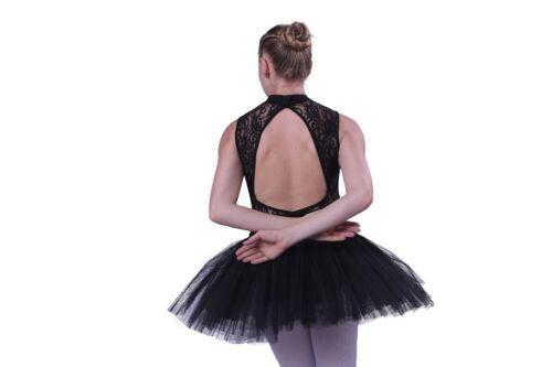 Professional adult ballet dance 5-layer hard net rehearsal practice tutu skirt