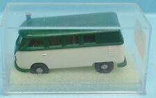 BREKINA Nr.3162 VW Bus T1b Polizei-Lautsprecherwagen (d'grün/weiß) - OVP