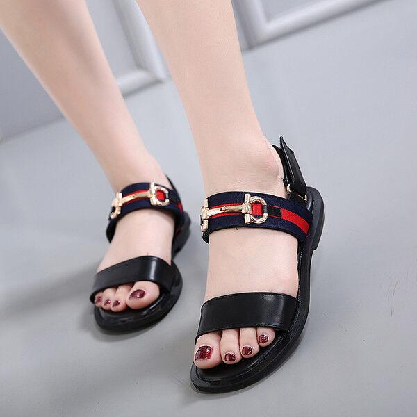 Sandali nero eleganti bassi  ciabatte colorati nero Sandali borchie comodi simil pelle 1082 6f7861