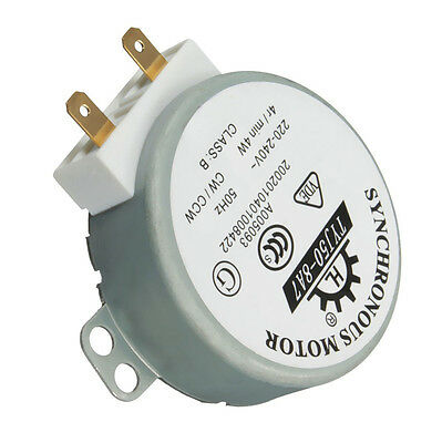220//240 Volt Microwave Oven TYJ50-8A7 Turntable Turn Table Synchronous Motor