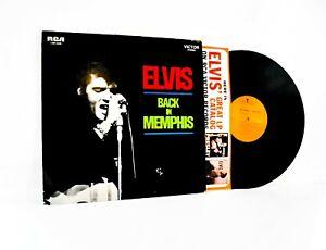 Elvis Presley LP: Back in Memphis (1970, RCA Victor, LSP-4429) ~ Vinyl Record