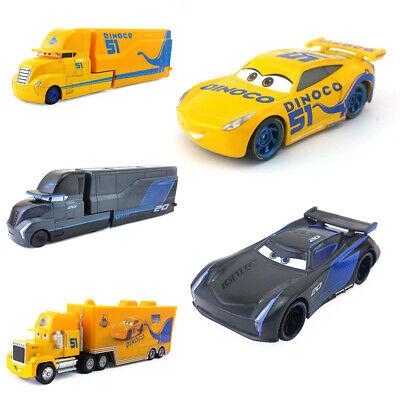 Disney Pixar Cars 3 Lightning Mcqueen Truck Jackson Storm 1 55