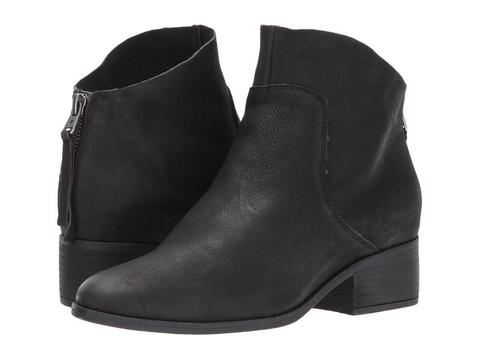Lucky Brand Lahela avvioIES nero LEATHER stivali scarpe Bridgetown Dimensione 5.5 M -New-