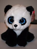 Ty Beanie Baby Ming The Panda Bear With Mint Tags Stuffed Plush Toy