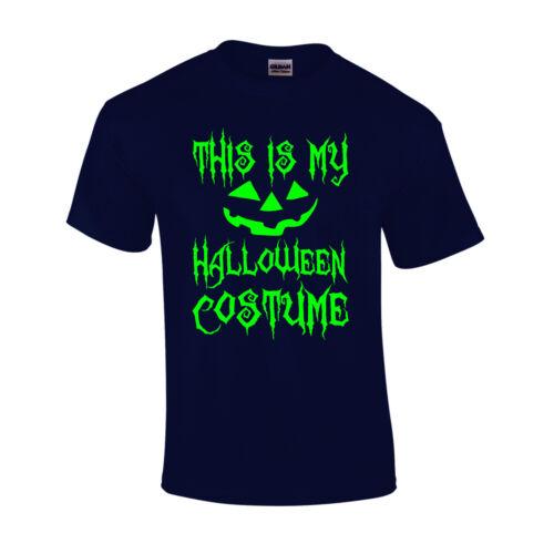 Ceci est mon Costume Halloween T Shirt citrouille