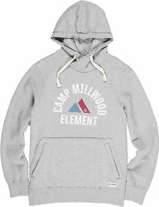 Valdez grijze heather Pullover Hoody Element In 0IXdYdx