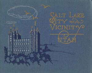 SALT LAKE CITY and VICINITY ~ UTAH ~ c. - 1910