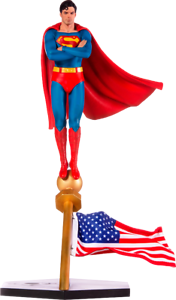 1978 SUPERMAN: The MOTIE STATUE (Deluxe) C Reeves by Iron Studios 1:10(US)NEW