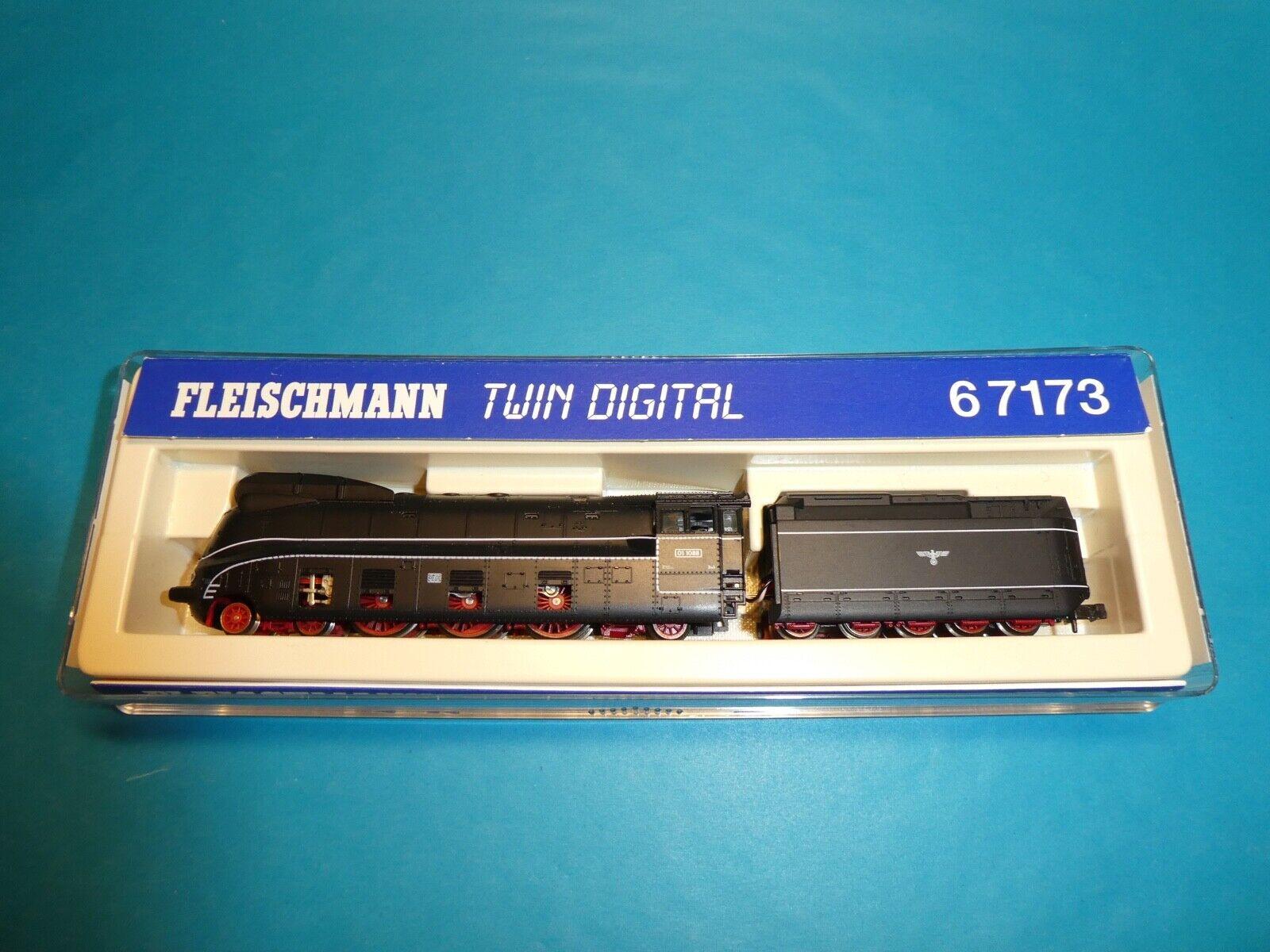 Fleischmann n 6 7171 Twin digital  br01 1088 DRG máquina de vapor EP. II