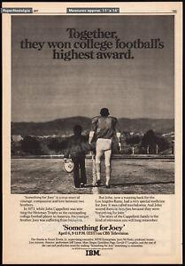 SOMETHING FOR JOEY__Original 1977 Trade AD / poster / TV promo__JOHN CAPPELLETTI