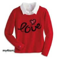 American Girl Doll Grace's Red Sweater For Girls Match Grace City Outfit S M L