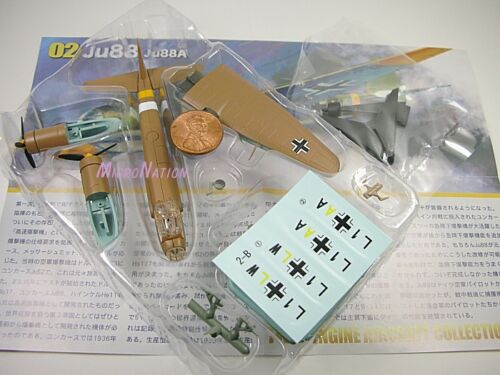 F-toys 1//144 Twin-Engine3 2B Junkers Ju 88 A 1st Training Wing IV Fighter Squadr