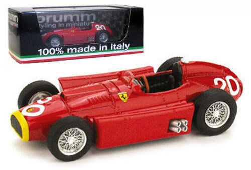 BRUMM R127 FERRARI D50 # 20 GP MONACO 1956-J M FANGIO, échelle 1/43, | Un Approvisionnement Suffisant