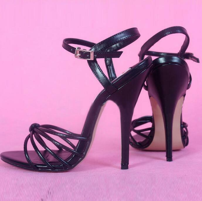 Womens 6 inches High Heels Stilettos with steel heel Sexy Party Sandals shoes Sz