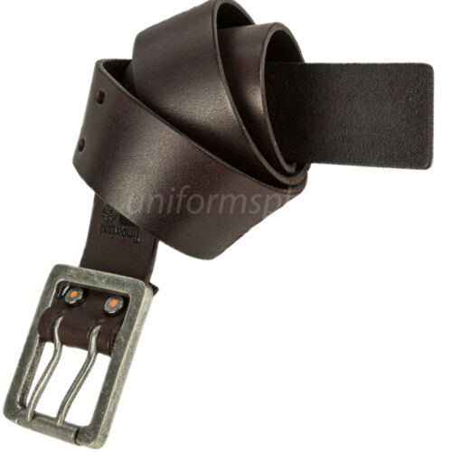 Timberland Pro Leather Belt Mens Double Prong 42mm Belts Black Brown BP0007