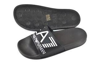 d2acfdc224824a Emporio Armani EA7 Mens Sea World Slides Pool Beach Slippers Sandals ...