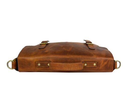 15 Laptop Leder Umhängetasche Messenger Büffel Bag Zoll Tasche Schultertasche WHfEnZng