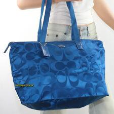 52b6d392be item 4 🌸🌸NWT Coach Getaway Signature Nylon Packable Weekender Tote Bag  F77321 Plume -🌸🌸NWT Coach Getaway Signature Nylon Packable Weekender Tote  Bag ...