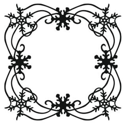 "Snowflake Frame That Special Touch Festive Christmas Mask Art Stencil 6/"" x 6/"""