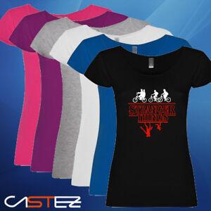Camiseta-mujer-upside-down-mundo-del-reves-basado-stranger-things-ENVIO-24-48h