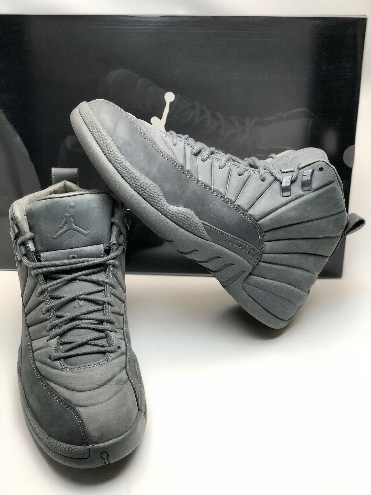 Air Jordan 12 XII Retro Public School New York PSNY 130690-003 Grey Black Sz10.5