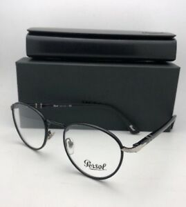 a2c03175bcb New PERSOL Rx-able Eyeglasses 2410-V-J 986 49-20 Matte Black-Shiny ...