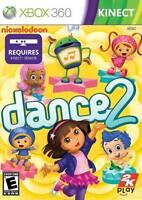 Nickelodeon Dance 2 Xbox 360 Kinect Dora Explorer, Just Family Fun Umizoomi
