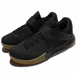 Nike Zoom Live EP 2017 HyperLive Black Gum Men Basketball Shoes 852420011