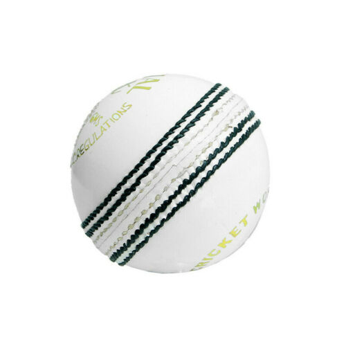 Details about  /Special Test  White /& Red Cricket Ball 156g Pack of 2 Genuine Top Grade Leather