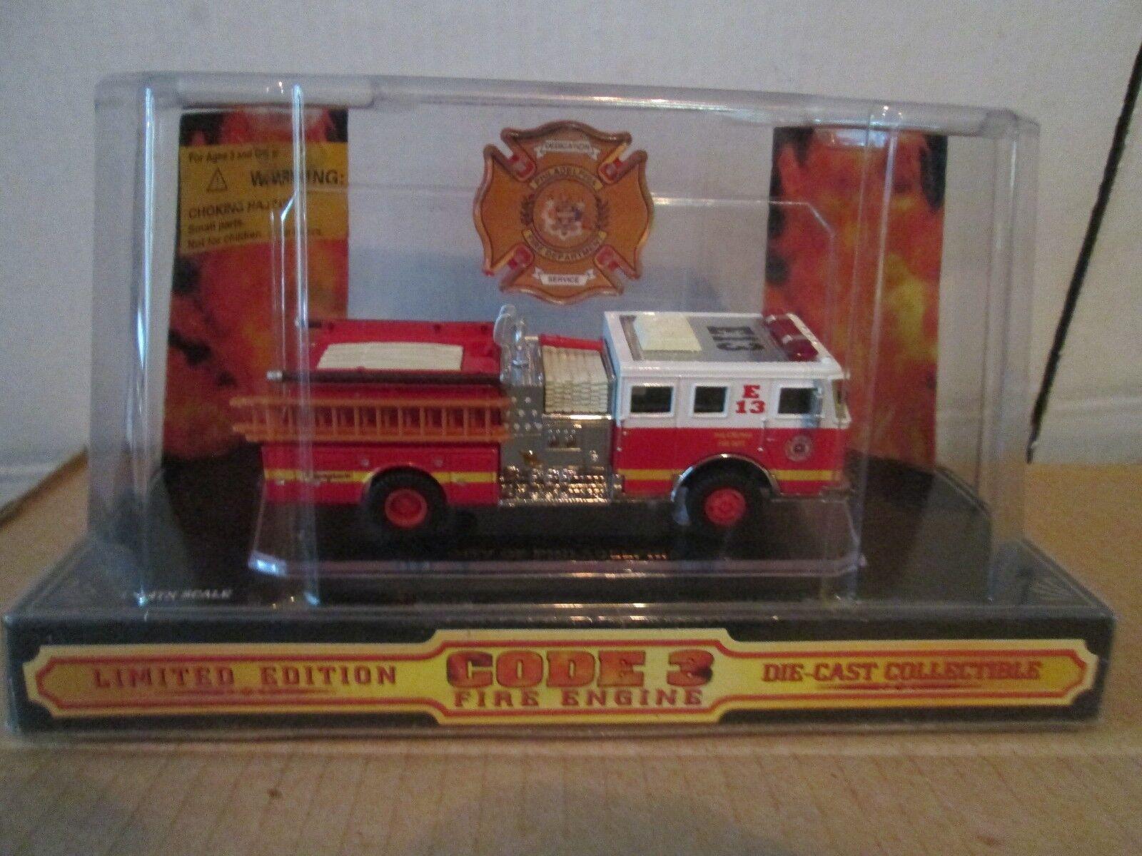City Of Philadelphia Code 3 Seagrave Stoßstange 1 64 Feuer Dept Einheit E13