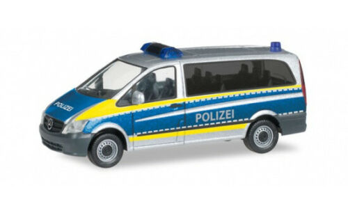 1:87 Herpa Mercedes-Benz Vito Polizei Saarland #094726