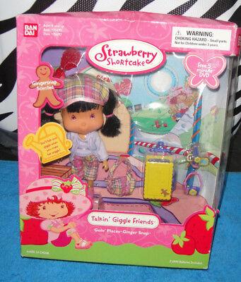 Emily Erdbeer Strawberry Shortcake NEW Bandai 2003 Ginger