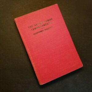 The-SEVEN-HUMAN-TEMPERAMENTS-By-Geoffrey-Hodson-Hardcover-1952-1st-Edition